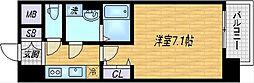 レジュールアッシュ梅田北[5階]の間取り