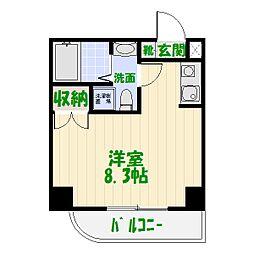 シャトレーアヤセ[6階]の間取り