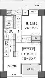 ガーデン蒲田 bt[1105kk号室]の間取り
