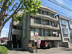 北海道札幌市東区北四十五条東15丁目の賃貸マンションの外観