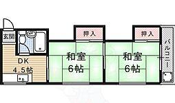観月橋駅 3.3万円