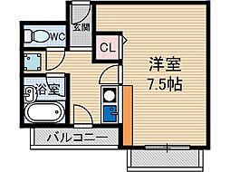 アプティー総持寺[2階]の間取り