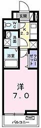 AJCスクエア C棟[0303号室]の間取り