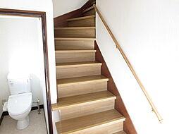 階段は安全面を...