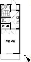 藤沢ドミール21[2階]の間取り