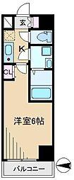 シエル白山A館[2階]の間取り
