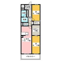 仮)D-room東静岡[6階]の間取り