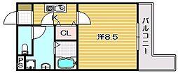 エリシオン[1階]の間取り