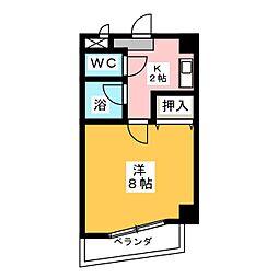 メーポール武藤[5階]の間取り