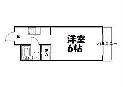 トワール高野[3階]の間取り