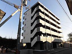 愛媛県松山市美沢1丁目の賃貸マンションの外観