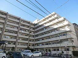 川口寿コーポ[6階]の外観