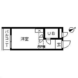 TOP・学芸大学第4[0102号室]の間取り