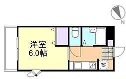 エスポワール八王寺[2階]の間取り
