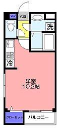 HAKUSAN  HILLS[301号室]の間取り