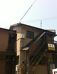 東京都大田区西嶺町6丁目の賃貸アパートの外観