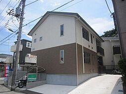 埼玉県川口市赤井3丁目の賃貸アパートの外観