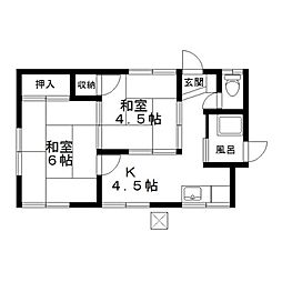 [一戸建] 神奈川県座間市入谷5丁目 の賃貸【/】の間取り