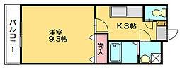 ガーデンハイム[2階]の間取り