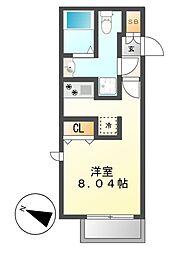 Lapule(ラプレ)[3階]の間取り