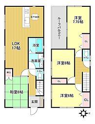 南生駒駅 2,590万円
