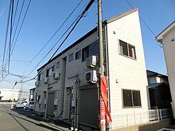 埼玉県鴻巣市宮地2丁目の賃貸アパートの外観