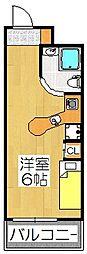 ラ・パルフェ・ド・プレオ[5階]の間取り