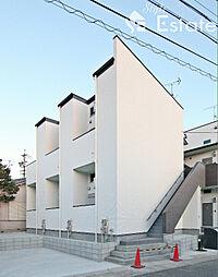 愛知県名古屋市中村区鈍池町1丁目の賃貸アパートの外観