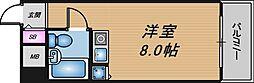 朝日プラザ梅田東II[3階]の間取り
