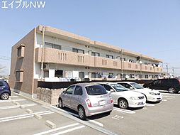 三重県多気郡明和町大字佐田の賃貸マンションの外観