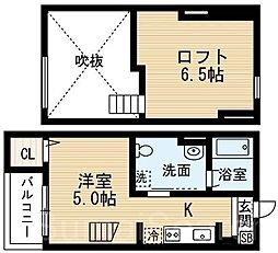 グリーンフィールド堺[1階]の間取り