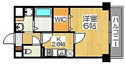 アンプルールフェール堺東[3階]の間取り