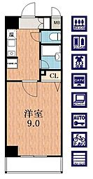 エトワール25[2階]の間取り