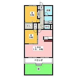 REGALO[1階]の間取り