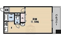H´s flats[4階]の間取り