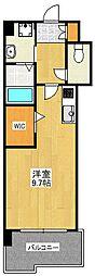 ギャラクシー県庁口[3階]の間取り