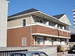 埼玉県川口市弥平4丁目の賃貸マンションの外観