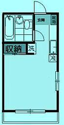 さくらハイツA棟[2階]の間取り