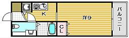 シャレー柿原[301号室]の間取り