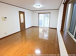 [室内撮影] リビングルームは広々LDK約14帖。安心の瑕疵保証付き住宅(不動産会社独自)////物件詳細等はリベールホームLINE公式アカウントからもお問合せ可能です。///