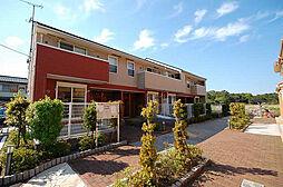福岡県北九州市門司区大字畑の賃貸アパートの外観