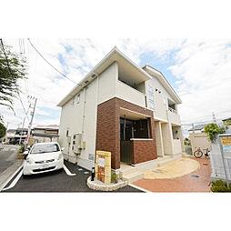 埼玉県川越市大塚新町の賃貸アパートの外観