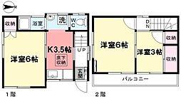 [一戸建] 東京都杉並区井草4丁目 の賃貸【/】の間取り