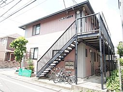 ジュネス成田東[2階]の外観
