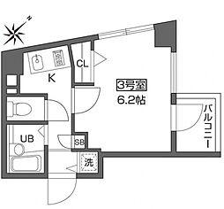 ベルファース早稲田[4階]の間取り