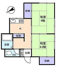 [一戸建] 千葉県佐倉市西ユーカリが丘4丁目 の賃貸【/】の間取り