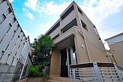 大阪府大阪市阿倍野区松虫通3丁目の賃貸アパートの外観