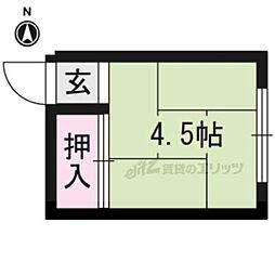 等持院・立命館大学衣笠キャンパス前駅 1.3万円