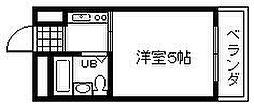 泉州昭和ビル[308号室]の間取り