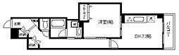 神奈川県横浜市都筑区北山田2丁目の賃貸マンションの間取り